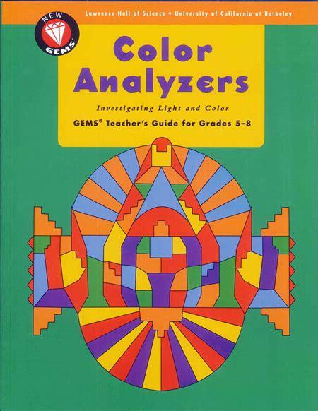 color analyzer gems color analyzers of science