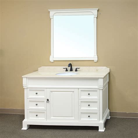 White Vanities For Bathroom 42 White Bathroom Vanity Decobizz