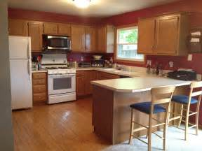 Kitchen Color Ideas With Oak Cabinets Kitchen Paint Color Ideas With Oak Cabinets Breeds Picture