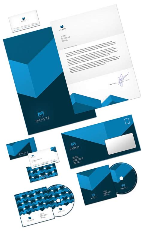 design image mansus corporate design by sergey barabei
