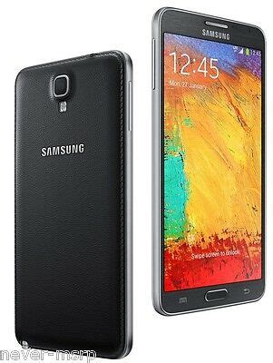 samsung galaxy note 3 neo sm n750 black factory unlocked 16gb 5 5 quot 8mp