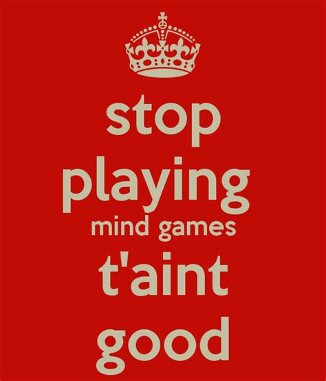 Stop Play by Stop Mind Quotes Www Imgkid The