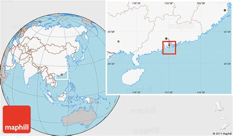 where is macau located on the world map gray location map of macau highlighted continent
