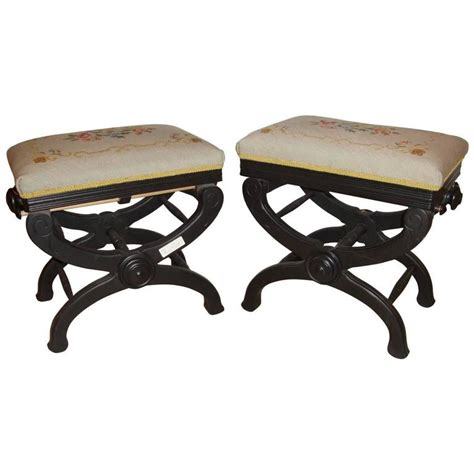 adjustable piano benches for sale rare pair of victorian adjustable piano benches for sale