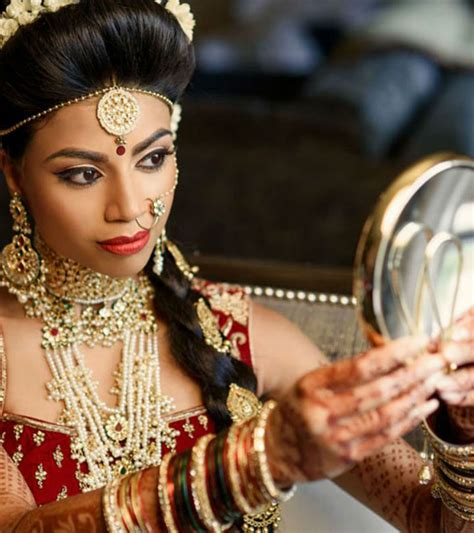 Wedding Hairstyles And Makeup Tips by Hairstyles For Indian On Wedding Day Hairstyles
