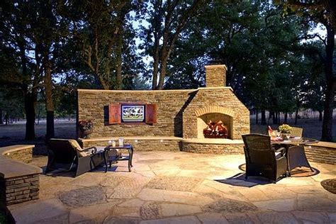 patio place outdoor patios with fireplaces and tvs