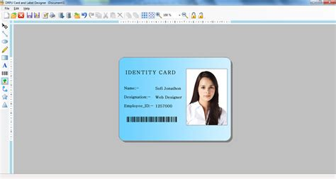 id design maker card making software product labels company logo envelope