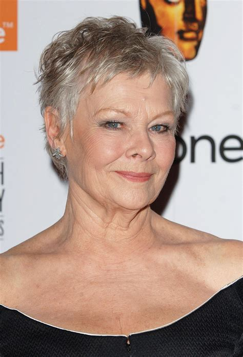 dame judi dench hairstyle pictures june