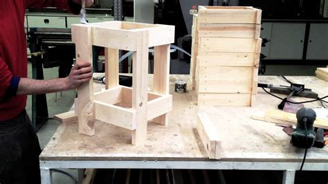 come fare uno scaffale in legno nascita di uno sgabello