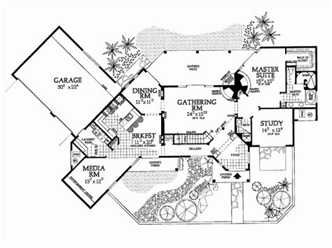 santa fe style house plans home photo style