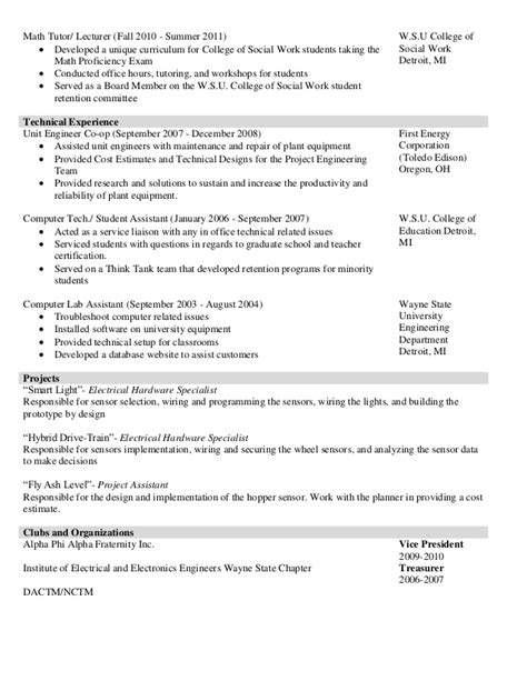 math tutor cv sle math tutor resume resume ideas