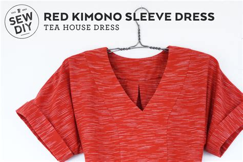 free pattern kimono top diy kimono sleeve dress review of the tea house dress