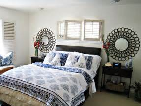 Bedroom Decorating Ideas White And Blue Tropical Style Bedroom Decorating Ideas Blue And