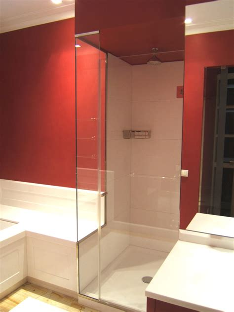 box doccia su vasca box doccia sagomati su vasca o muretto su misura