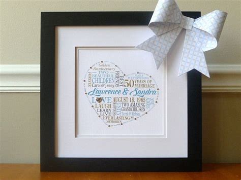 50th Wedding Anniversary Gifts Grandparents by 1000 Ideas About Wedding Anniversary Gifts On