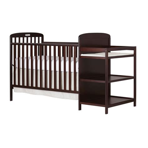 Crib With Changing Table Combo 4 In 1 Size Crib Changing Table Combo On Me