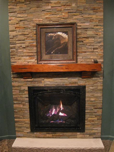 stone gas fireplace 1000 images about gas fireplaces on pinterest