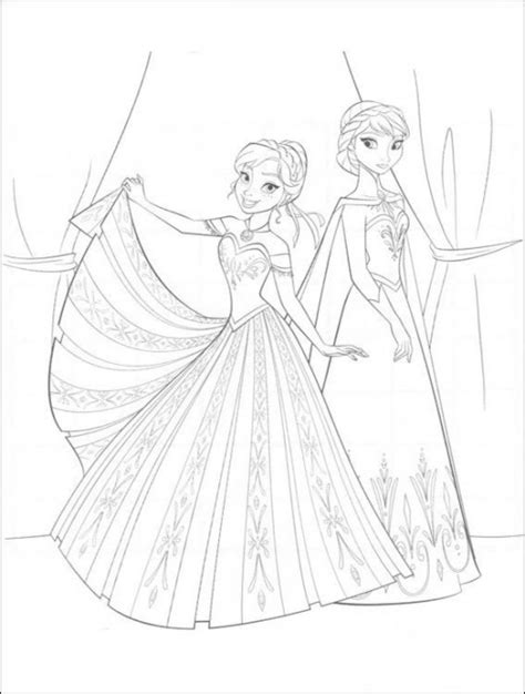 Free Coloring Pages Frozen Coloring Page World Frozen Portrait by Free Coloring Pages Frozen