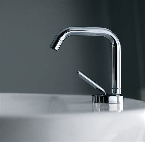 designer bathroom fixtures zucchetti isystick modern bathroom faucets and