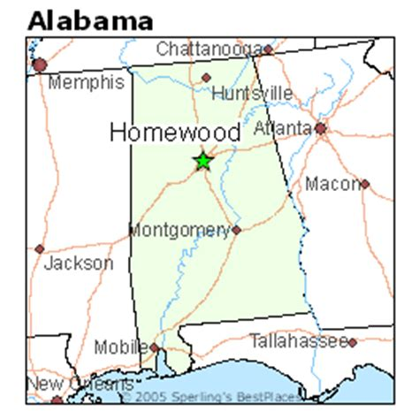 best places to live in homewood alabama