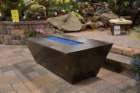 outdoor gas pit contemporary patio other metro