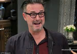 Whats Up With David Arquettes Hair by David Arquette Tells Khloe That Wanted