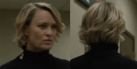how to claire underwood hair robin wright s new lob and how to get the look