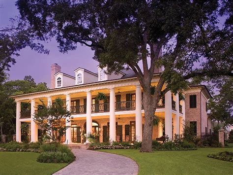 southern plantation home southern house plans southern home with colonial flair