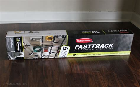 organizing the garage with rubbermaid fasttrack erin spain