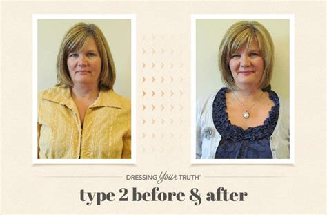 Dressing Your Truth Type 2 Hairstyles | dreamy details dressing your truth makeover the carol blog