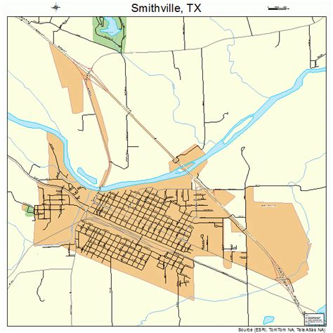 smithville texas map smithville texas map 4868456