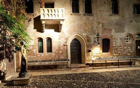 la casa di romeo e giulietta il balcone della casa di giulietta verona viaggio in baule