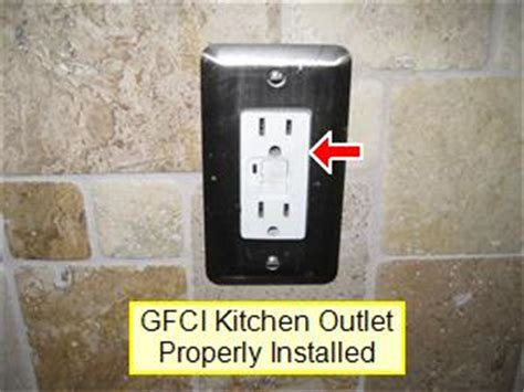Gfci Receptacles In Kitchen by Kitchen Inspection Your Home Inspection Checklist