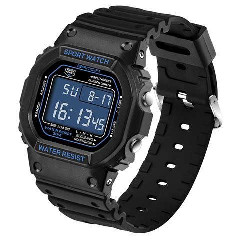 Sanda Jam Tangan Sporty Pria Sd 732 sanda jam tangan sporty pria sd 329 black jakartanotebook