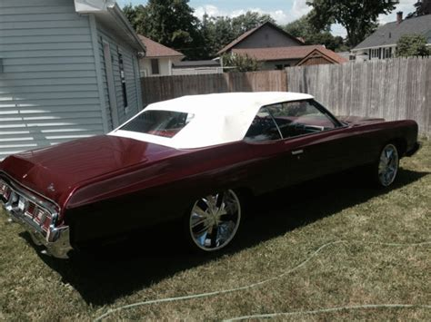 1973 chevy impala convertible for sale 1973 chevy caprice convertible new paint new interior