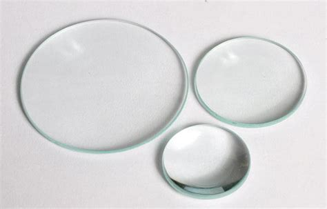 Len Glas by Convex Individual Glass Lenses United Scientific
