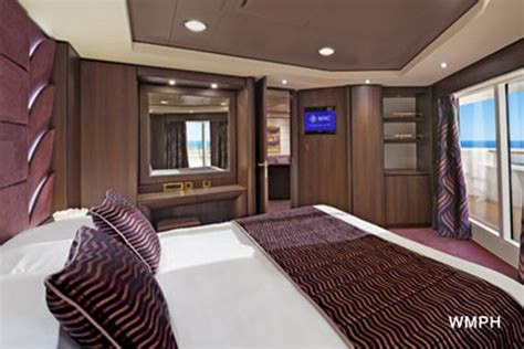 cabine msc preziosa msc preziosa cabin 11009 category s3 aurea suite 11009