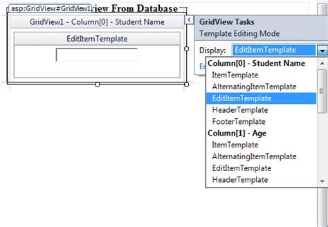template field in asp net asp net use template field to display data in gridview in