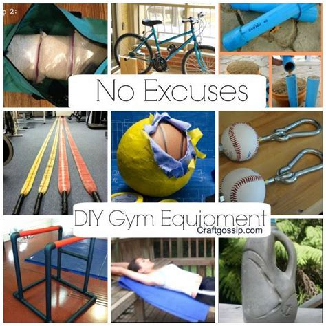 diy equipment no more excuses bath and
