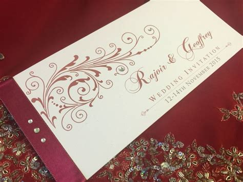 bespoke wedding invitations uk 8 best images about indian chequebook and trifold