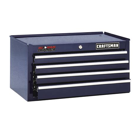 sears 4 drawer tool chest craftsman 26 quot wide 4 drawer ball bearing griplatch 174 middle