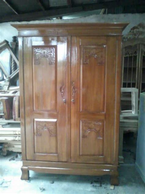 Lemari Kayu Jati Pintu 2 harga lemari kayu jati 2 pintu images