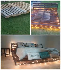 Diy Queen Size Platform Bed Frame by Top 62 Recycled Pallet Bed Frames Diy Pallet Collection