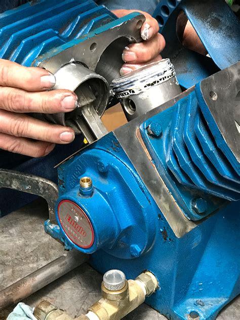 rebuilding  emglo air compressor pump
