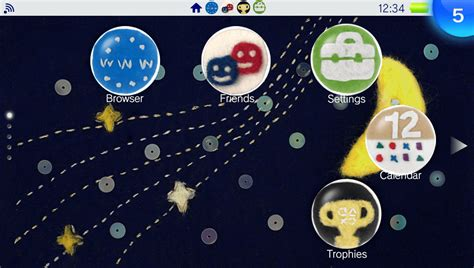 vita themes in store stitching theme on ps vita official playstation store