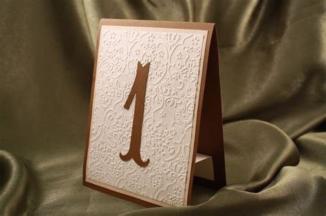 Rustic Table Numbers by Embossed Wedding Inspiration From Etsy Rustic Table