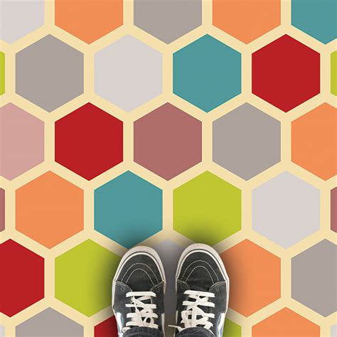 honeycomb pattern vinyl flooring honeycomb geometric pattern vinyl flooring from