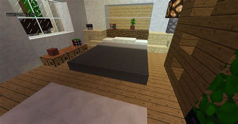 minecraft furniture bedroom racoon bed
