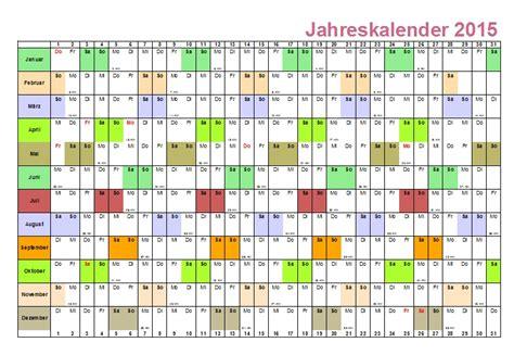 Kostenlose Vorlage Urlaubsplaner 2015 Jahresplaner 2015 Excel Calendar Template 2016