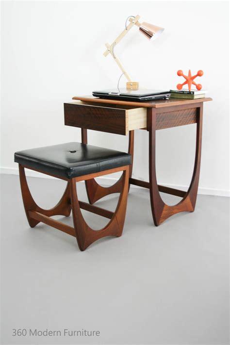 oficina kalmar mid century modern kalmar desk table drawer console